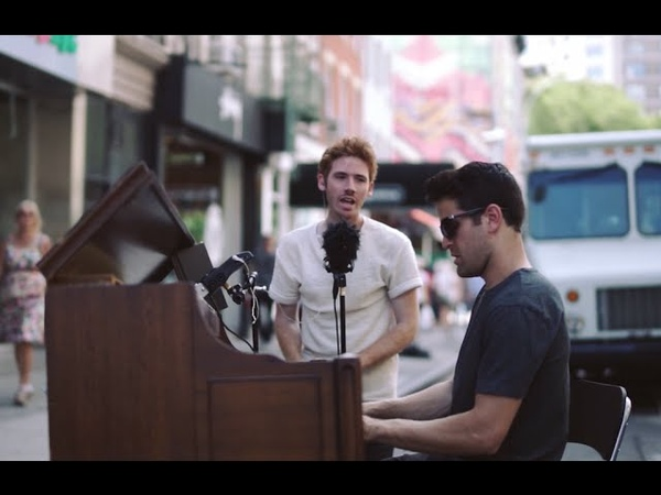 Summertime cover on a Piano in NYC by Kenneth Edwards and Dotan Negrin