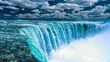 НИАГАРСКИЙ ВОДОПАД С ВЫСОТЫ ПТИЧЬЕГО ПОЛЕТА - НИАГАРА ФОЛС Niagara РЕЛАКС