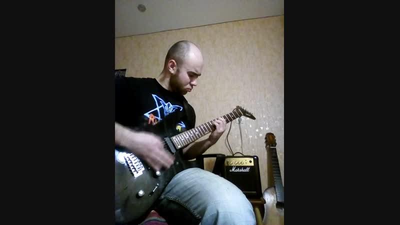 Адовое насилование гитары