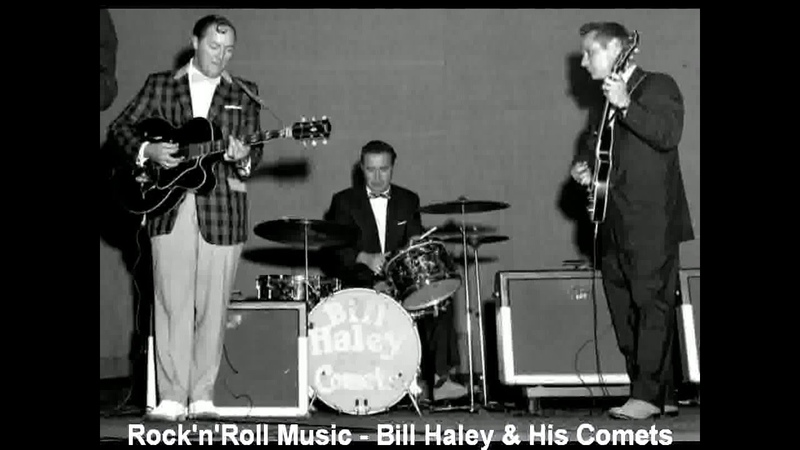 RocknRoll Music Bill Haley His Comets