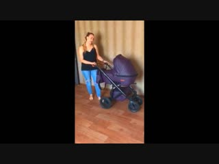 Review of the baby carriage from Elena, the city of Bryansk