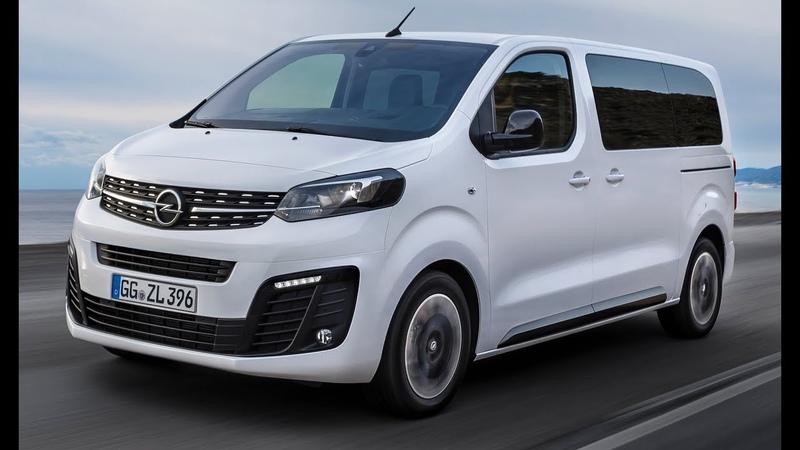 2019 Opel Zafira Life interior, Exterior and Drive