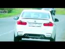 NeX® BMW 328 XDRIVE. ЭКСКЛЮЗИВ! Глушитель раздвоенный 4 насадки Ø 76 мм. Трансформация в M3