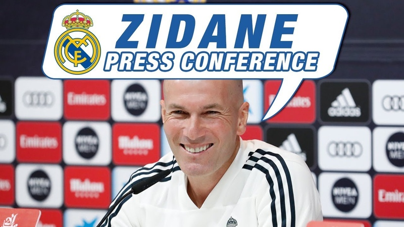 LIVE | Zidanes Real Madrid press conference before Celta match!