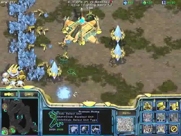 FPVOD REPS Tama vs Speedx PvZ Game 2 Starcraft Brood War 2015