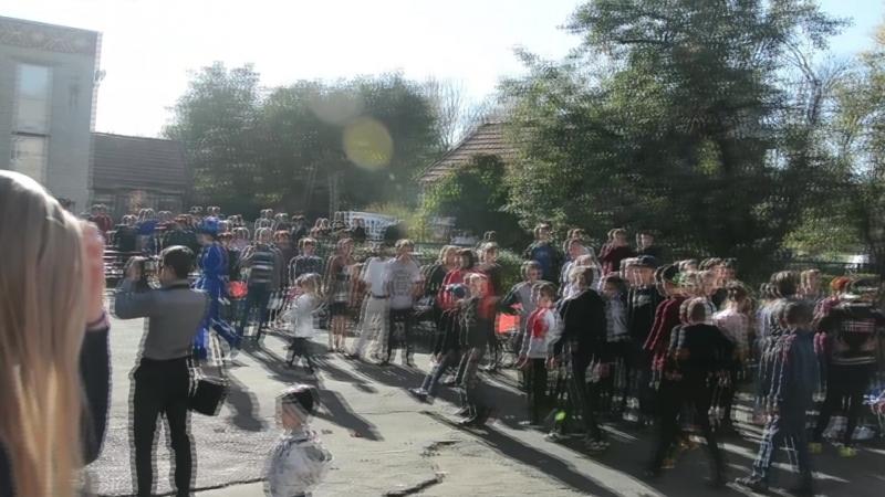 Как волонтеры Дороги жизни вместе с детьми из села Прелестное юбилей отмечали
