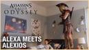 Assassin's Creed Odyssey: Alexa Meets Alexios | Ubisoft [NA]