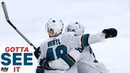 GOTTA SEE IT: Tomas Hertl Scores Shorthanded In Double OT To Force Game 7 Against Golden Knights