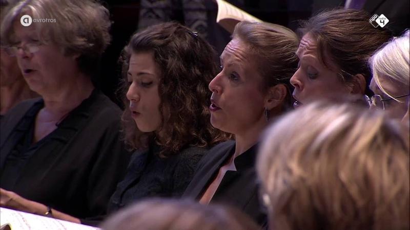 Duruflé Requiem Groot Omroepkoor o l v Ed Spanjaard Live concert HD