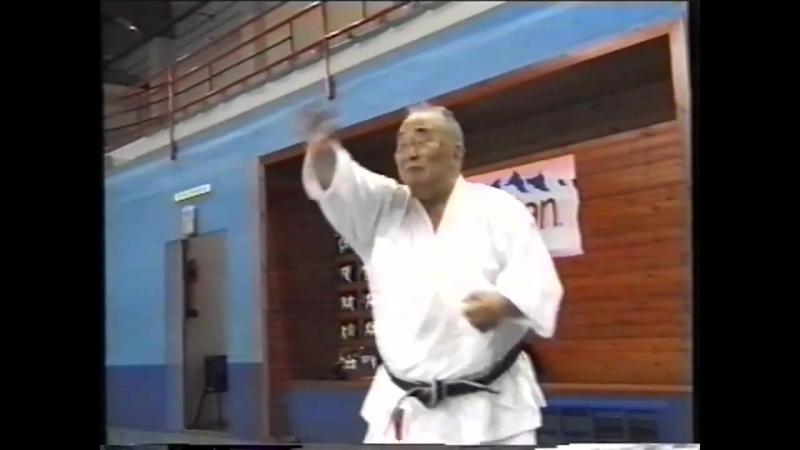 БИЕО. Мастер Taiji Kase.