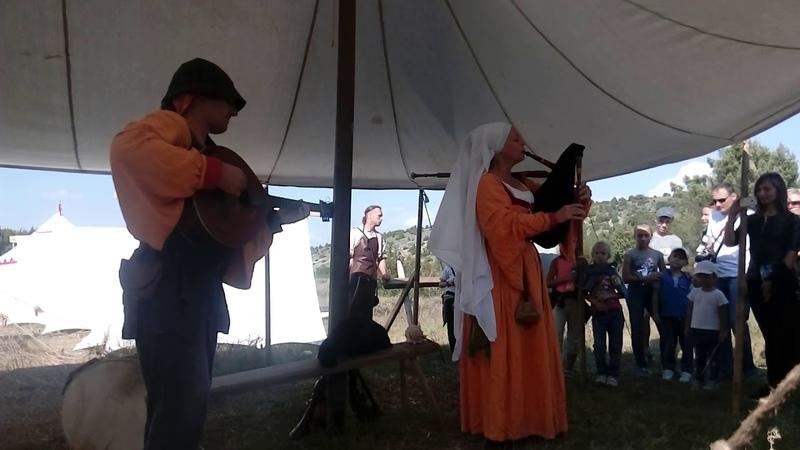 Волынка на фестивале Федюхины высоты - 2018