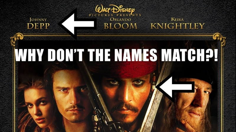 Why Dont Movie Poster Names EVER Line Up!