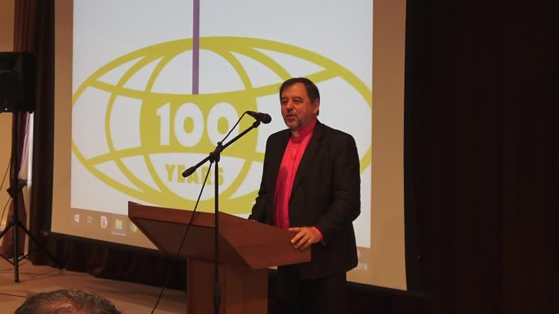 Տոնական համերգային ծրագիր՝ նվիրված ԱՀԱԸ ի 100 ամյակին Շնորհավորական ուղերձ՝ Լեոնիդ Կառտավենկո 25․05․2019