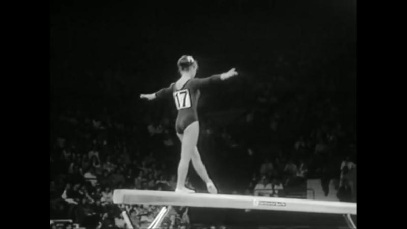 Спортивная гимнастика. Женщины. Чемпионат Европы / часть 1 (1973)