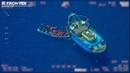Frontex filmte illegale Menschenschlepper