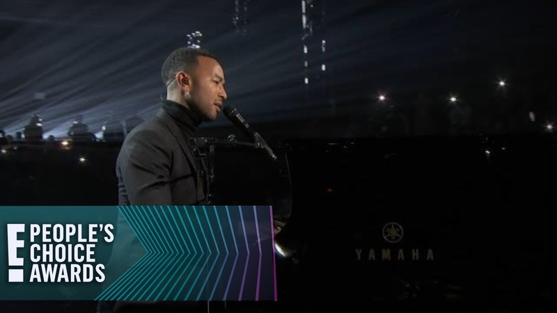 John Legend's Moving Rendition of Pride | E! People's Choice Awards