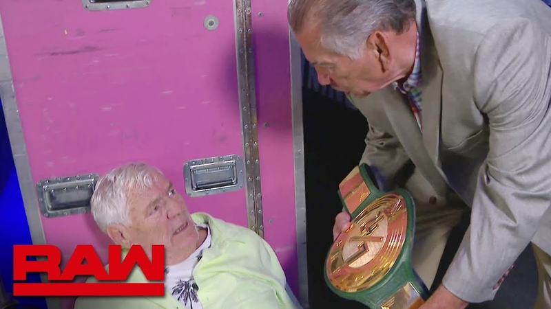 Maverick Patterson Brisco and Kelly Kelly win the 24 7 Title Raw Reunion July 22 2019