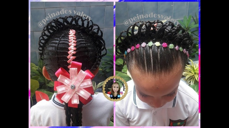 PEINADO DE GRADO 🎓- PEINADOS VALERY💃 / CURSO VIRTUAL 👍/ Hairstyles