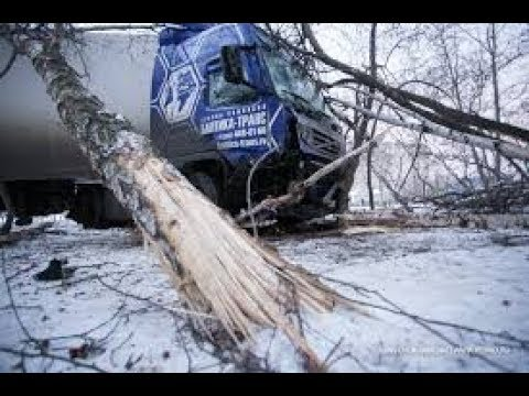 Зимний дальнобой Экстремальные ситуации трудности и неудачи на дороге №7