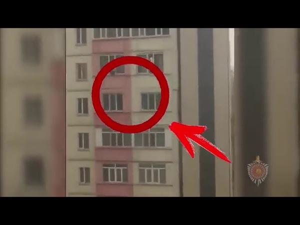 В микрорайоне Тунгуч 17-летняя девушка сбросилась из окна 6-го этажа. Другой ракурс