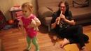 Лиза Караковская танцует джигу под Евангелие от прях