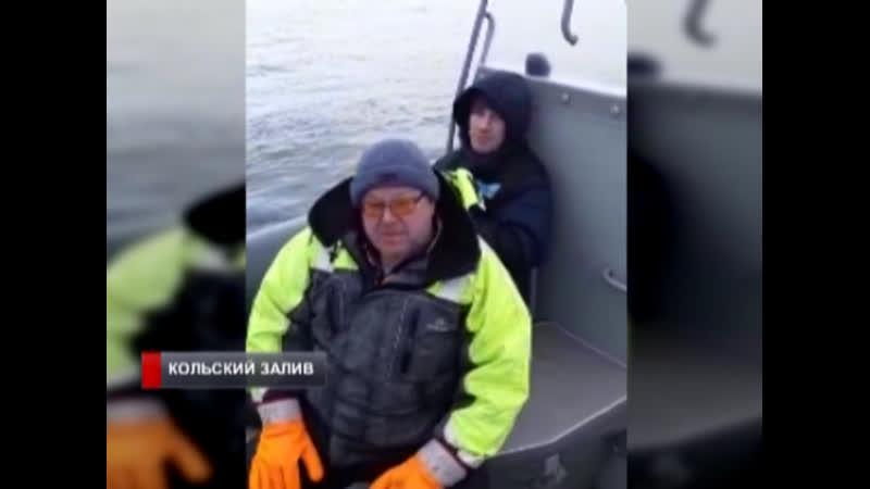 «Спасибо ребятам, а то был бы кирдык»: рыбаки благодарят пограничников за спасение