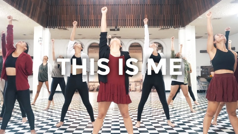 This Is Me The Greatest Showman Keala Settle Dance Video @besperon Choreography