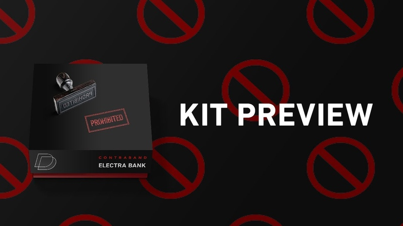 Kit Preview - Contraband (Electra Bank) Making Beats in FL Studio