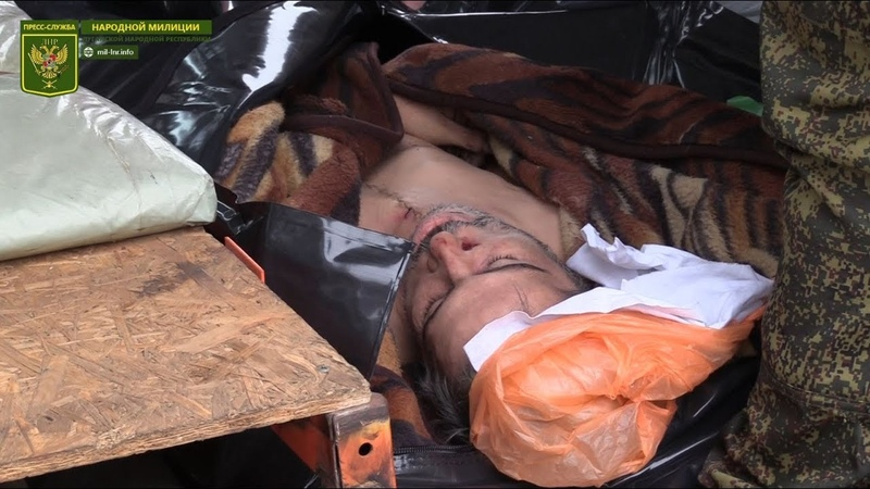 18 Передача тела погибшего украинского военнослужащего
