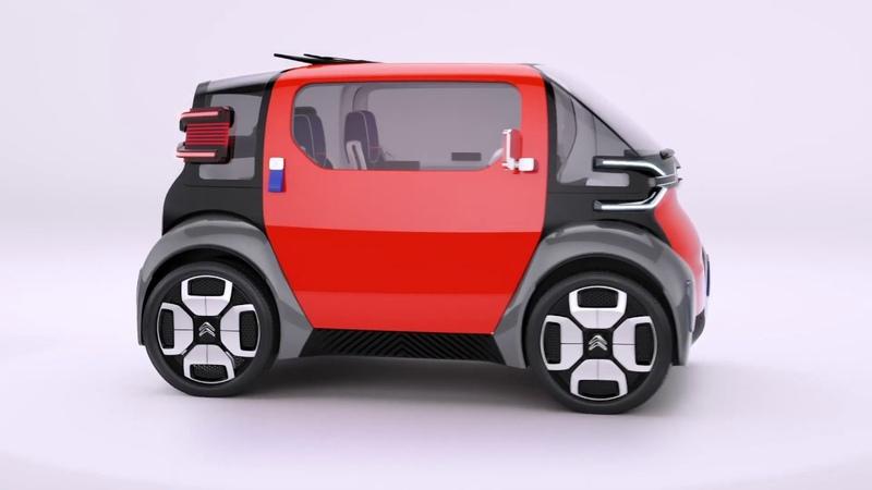 Ami One Concept - Next Generation design by Citroën