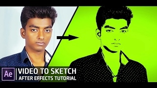 After Effects Tutorial | Video to Sketch