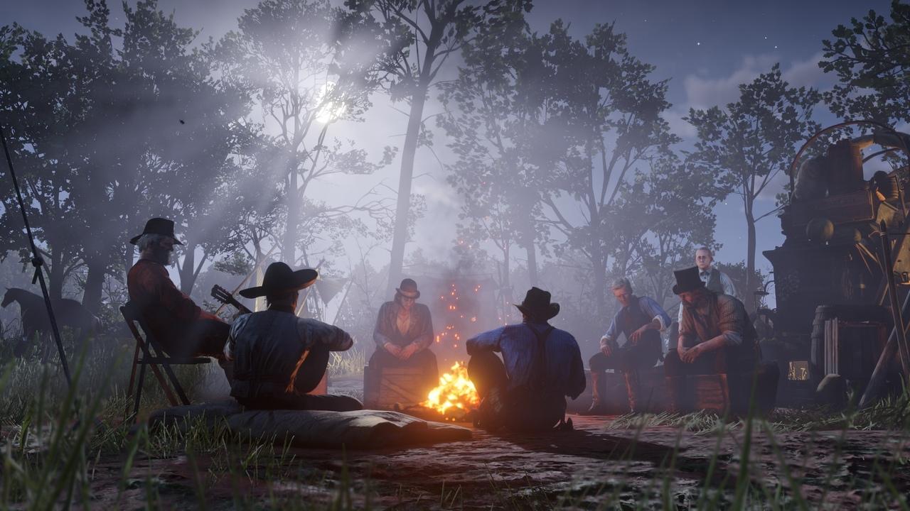 лагерь в Red Dead Redemption 2