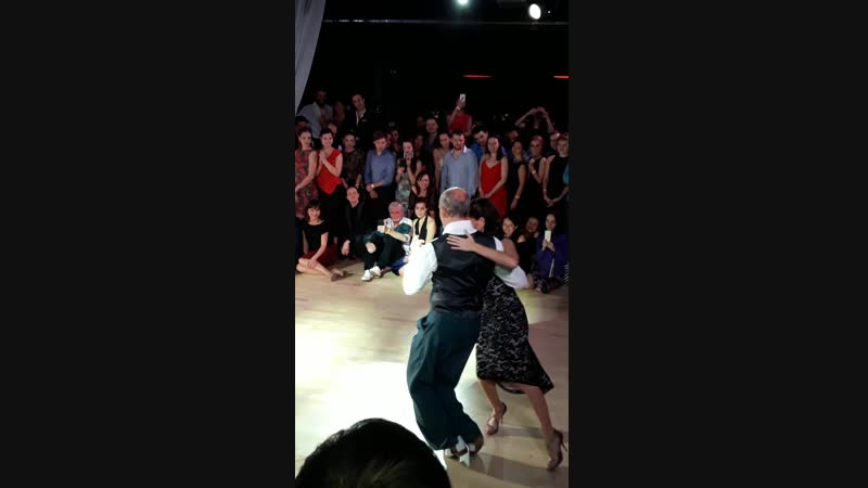 Орасио Годой и Сесилия Берра. Шоу милонга Планетанго 2019.02.17