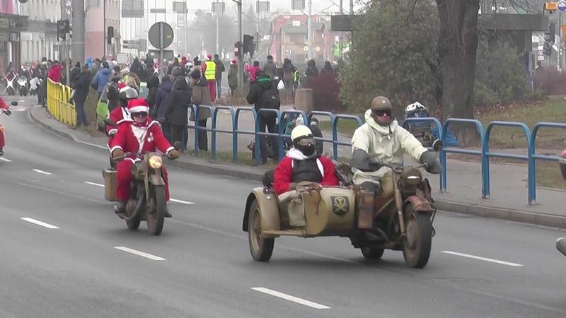 Mikołaje na Motocyklach Gdańsk 2018