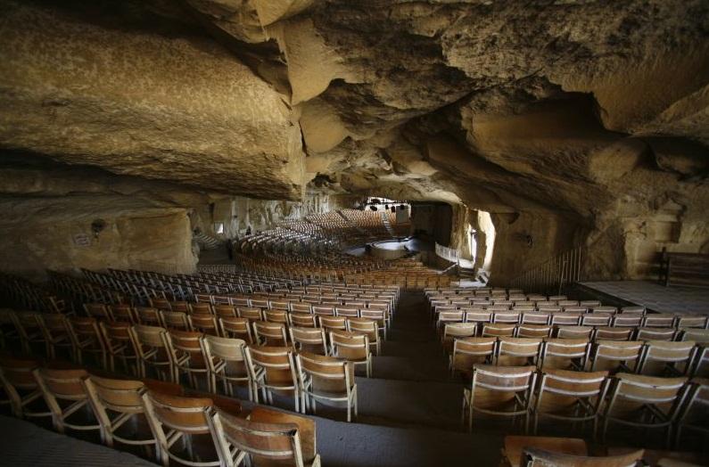 Пещеры кафедрального собора Святого Симеона