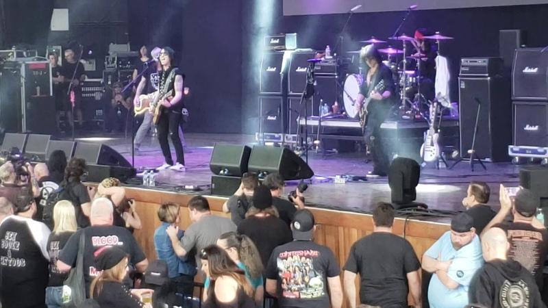L.A.Guns live at M3 festival 2019 New Lineup
