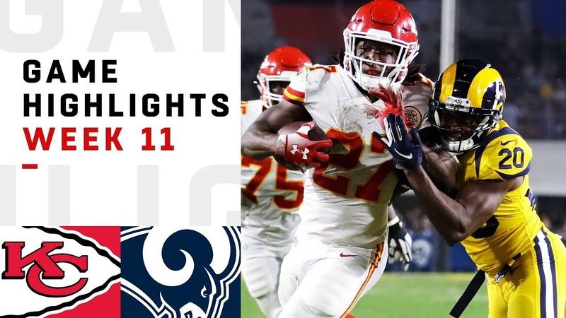 Chiefs vs. Rams Week 11 Highlights   NFL 2018