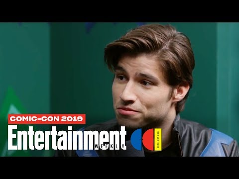 'Krypton' Star Cameron Cuffe Joins Us LIVE | SDCC 2019 | Entertainment Weekly