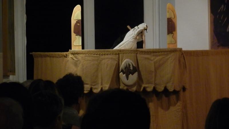 Pulcinella di Irene Vecchia a Le Cicale Operose - La morte