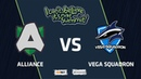 Alliance vs Vega Squadron, Game 1, Group Stage, I Can't Believe It's Not Summit