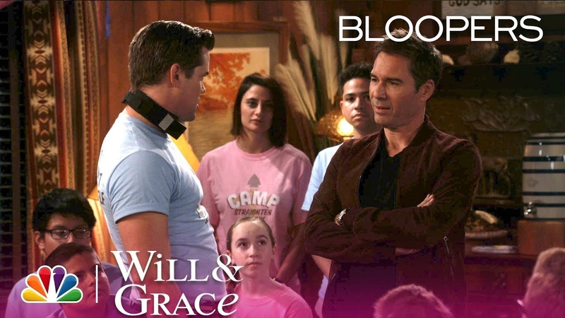 Will Grace - Outtakes and Bloopers: Kiss Time (Digital Exclusive)