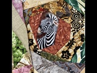Лоскутный эфир 93. Шьем одеяло для подростка. Цветовой подбор.