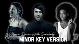 Whitney Houston - I Wanna Dance With Somebody MINOR KEY Future Sunsets &amp 7th Ave