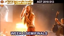 "Courtney Hadwin sings Born To Be Wild"" SIMON LOVES IT Semi Finals 2 America's Got Talent 2018 AGT"
