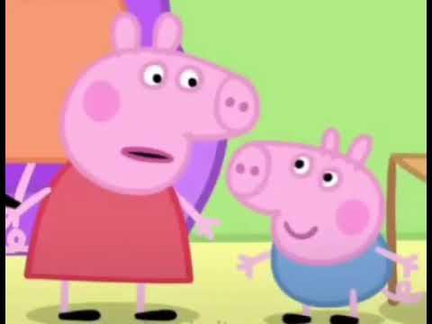 Свинка пеппа Прятки