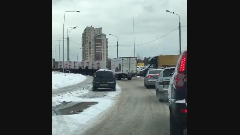 Затор ЖК Зеленые Аллеи - Видное