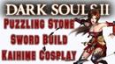 Dark Souls 2 Puzzling Stone Sword Showcase PVP Dexterity Build (Kaihime) Cosplay Samuri Warrior Ivy