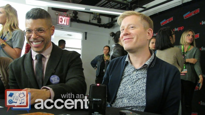NYCC 2018 Star Trek Discovery - Wilson Cruz Anthony Rapp
