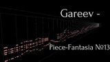 Gareev Artem - Piece-Fantasia №13 (h-moll) ICO №33 (With MIDITrail)