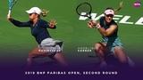 Yulia Putintseva vs. Angelique Kerber | 2019 BNP Paribas Open Second Round | WTA Highlights